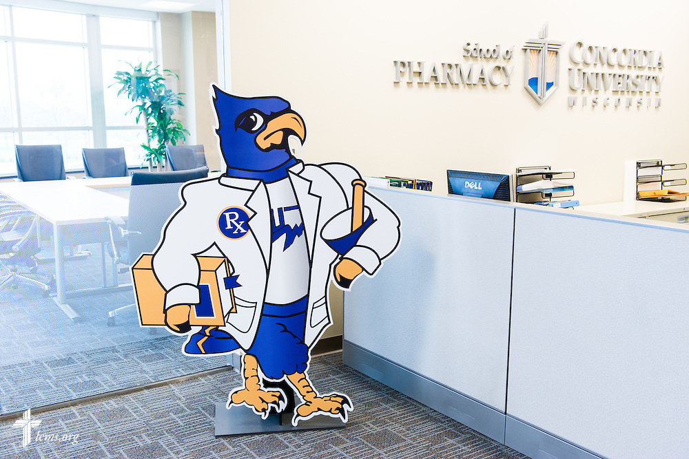 Interior photograph of the School of Pharmacy at Concordia University Wisconsin in Mequon, Wis., on Tuesday, May 27, 2014. LCMS Communications/Erik M. Lunsford