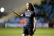 Everton midfielder Megan Finnigan (20) during the FA Women's Super League match between Manchester City Women and Everton Women at the Sport City Academy Stadium, Manchester, United Kingdom on 20 February 2019.