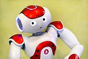 Nederland, the Netherlands, Eindhoven, 22-10-2017Tijdens de Dutch designweek kan het publiek op Strijp bij het Klokgebouw, het eindexamenwerk zien van de studenten van de designacademie. Projecten van alle afgestudeerden van Design Academy. Ook is er een beurs met innovatieve producten en ideeen. Alles is te zien in o.a de oude fabrieken van Philips, het industrieel erfgoed van de stad. Ook veel aandacht voor robotisering, privacy issues en big data toepassingen. Hier zitten veel startups, jonge bedrijfjes die iets nieuws in de markt willen zetten. Er zijn voorbeelden van robots en robotica te zien en te ervaren. FOTO: FLIP FRANSSEN
