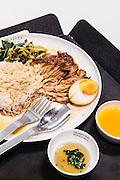 Khao kha moo (Pork leg on rice) at Food Hall at Em Quartier mall