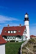 Portland Head Lighthouse, Cape Elizabeth, Maine, USA.