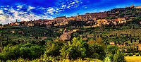 &ldquo;Evening fog rolling down the hill of Cortona&rdquo;&hellip;<br />