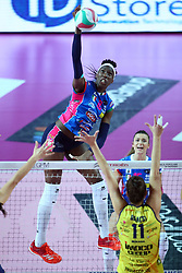 09-12-2017 ITA: Igor Gorgonzola Novara - Imoco Volley Conegliano, Novara<br /> Paola Egon #18 of Novara<br /> <br /> *** Netherlands use only ***