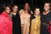 28 April 2011- New York,  NY-  l to r: Sandra Parks, Terri McMillian, Susan Taylor, Ntozake Shange and Harriette Cole at The Sparkling Celebration for the Birthday of Harriette Cole held at the Galapagos Art Space on April 27, 2011 in Brooklyn, NY Photo Credit: Terrence Jennings