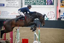 Janssens Bob, BEL, El Barone 111 Z<br /> Finale Hengstencompetitie 6 jarige<br /> Hengstenkeuring BWP<br /> 3de phase - Hulsterlo - Meerdonk 2018<br /> © Hippo Foto - Dirk Caremans