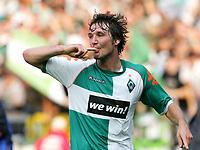 2:0 Jubel Christian Schulz Bremen<br /> Bundesliga SV Werder Bremen - Borussia Moenchengladbach <br />  Norway only