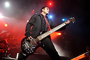 Photos of American Christian rock band Skillet performing at the Pageant in St. Louis on October 19, 2010.