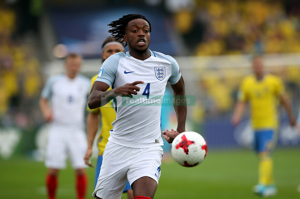 England's Nathaniel Chalobah during the UEFA European Under-21 Championship, Group A match at the Kolporter Arena, Kielce.