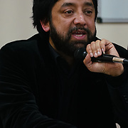 """London, England, UK. 29th November 2017.Salman Sayyid is an Professor of Social Theory and Decolonial Thought join the debate """"Confronting anti-muslim hate crimes in Britain"""" challenges and opportunities."""