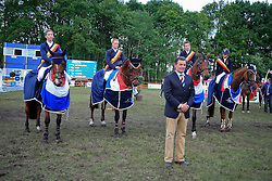 Sleiderink Sjaak (NED) - BMC Take it Easy La Silla, Derks Wim - Triomphe de Muze, Vos WOuter - Angel, Van Gerwen Jody - Shalon Stanford<br />