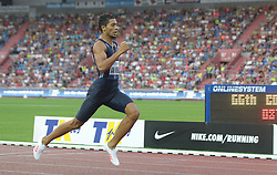 June 28, 2017 - Ostrava, Czech Republic - South African athlete Wayde Van Niekerk competes in the 300 metres race during the Golden Spike Ostrava athletic meeting in Ostrava, Czech Republic, on June 28, 2017. (Credit Image: © Petr Sznapka/CTK via ZUMA Press)