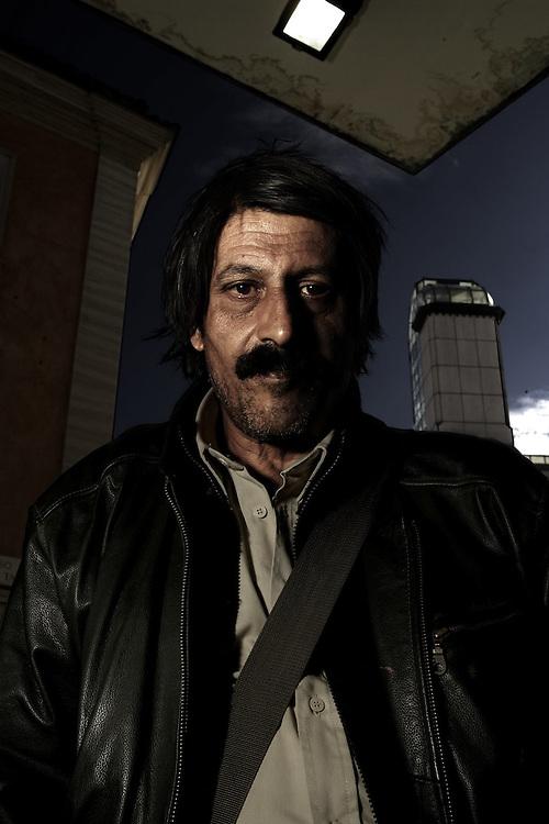 ©Stefano Meluni.02-11-2007 Terni.Portrait of Squillino - Artist
