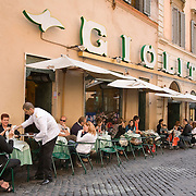 Giolitti's gelato and pastry bar on Via Uffici del Vicario, Rome, Italy