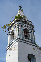 Church of San Jose, steeple; old quarter of Casco Viejo, Panama City, Panama