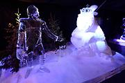 Het IJsbeelden Festival presenteert '200 jaar Koninkrijk der Nederlanden', een vorstelijke geschiedenis in ijs en sneeuw.<br /> <br /> Op de foto: IJssculptuur van Lodewijk Napoleon Bonaparte