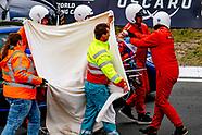 crash van Romy monteiro tijdens de lady gt tijdens de jumbo dagen