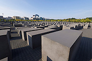 Berlin, Germany. Holocaust-Mahnmal by Peter Eisenman.