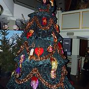 Kerstborrel Princess 2004, zingende kerstboom