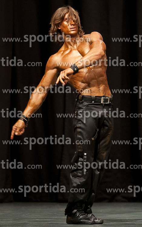 17.09.2011, Kammersaal, Graz, AUT, Fitness World Championships, im Bild Victor Sharko (LET) // during Fitness World Championships at Kammersaal in Graz, Austria on 17/09/2011. EXPA Pictures © 2011, PhotoCredit: EXPA/ E. Scheriau