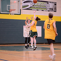 Regina Cougars Alumni Exhibition game on March  10 at the Centre for Kinesiology, Health and Sport Regina,Saskatchewan. Credit: Arthur Ward/Arthur Images