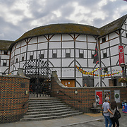 Shakespeare's Globe on 18 July 2019, City of London, UK.