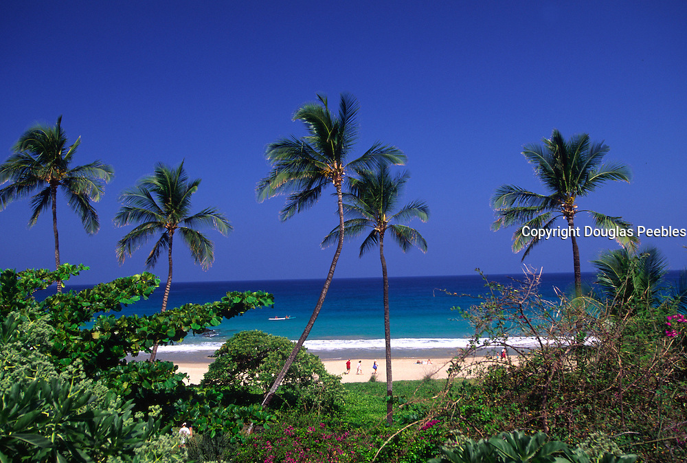 Hapuna Beach, Kohala Coast, Island of Hawaii, Hawaii, USA<br />
