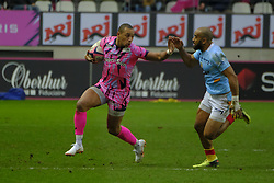 January 5, 2019 - Paris, France - Stade Francais Wing GAEL FICKOU in action during the French rugby championship Top 14 match between Stade Francais and  Perpignan  at Jean Bouin Stadium in Paris - France..Stade Franais won 27-8 (Credit Image: © Pierre Stevenin/ZUMA Wire)