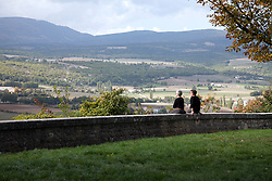 The eastern flank of Mt. Ventoux and the Val de Sault provide an ever-changing landscape.