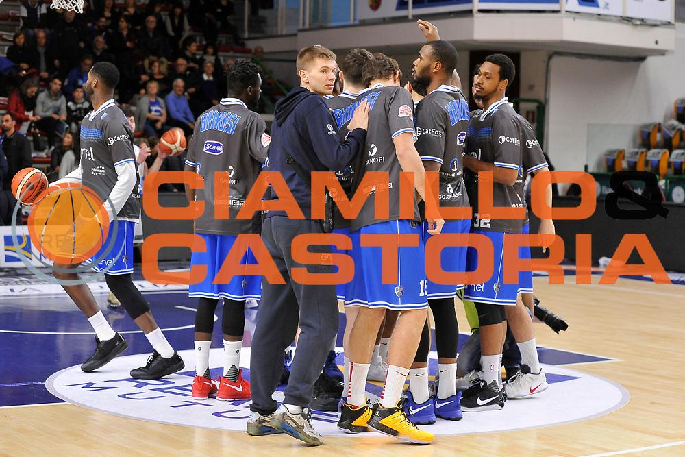 Enel New Basket Brindisi<br /> Banco di Sardegna Dinamo Sassari - Enel New Basket Brindisi<br /> LegaBasket Serie A LBA Poste Mobile 2016/2017<br /> Sassari 02/04/2017<br /> Foto Ciamillo-Castoria