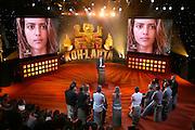 Reportage photographique sur le plateau de l'émission koh lanta, la finale pour une production