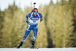 Michal Slesingr (CZE) during Men 10 km Sprint of the IBU Biathlon World Cup Pokljuka on Thursday, December 16, 2015 in Pokljuka, Slovenia. Photo by Ziga Zupan / Sportida