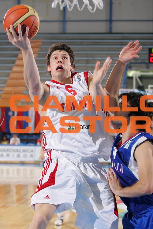 DESCRIZIONE : Gorizia Nova Gorica U20 European Championship Men Campionato Europeo<br /> GIOCATORE : Caner &Ouml;ner<br /> SQUADRA : Turkey Turchia<br /> EVENTO : Gorizia Nova Gorica U20 European Championship Men Campionato Europeo<br /> GARA : Serbia Turkey Turchia<br /> DATA : 10/07/2007<br /> CATEGORIA : Tiro<br /> SPORT : Pallacanestro <br /> AUTORE : Agenzia Ciamillo-Castoria/S.Silvestri
