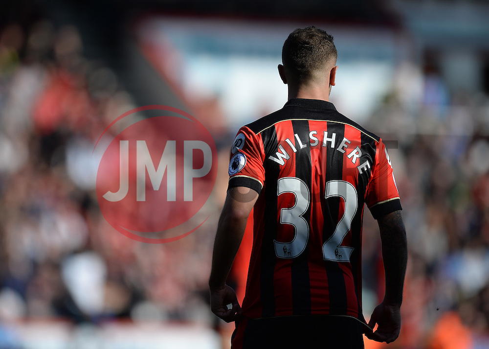 The back  Jack Wilshere of Bournemouth top in the light.  - Mandatory by-line: Alex James/JMP - 22/10/2016 - FOOTBALL - Vitality Stadium - Bournemouth, England - AFC Bournemouth v Tottenham Hotspur - Premier League