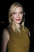 Nov. 16, 2015 - New York City, NY, USA - <br /> <br /> Actress Cate Blanchett arriving at the New York premiere of 'Carol' at the Museum of Modern Art <br /> ©Exclusivepix Media