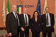 DESCRIZIONE : Roma Basket Day Hall of Fame 2014<br /> GIOCATORE : Fabrizio Della Fiori Marino Zanatta Mara Fullin<br /> SQUADRA : FIP Federazione Italiana Pallacanestro <br /> EVENTO : Basket Day Hall of Fame 2014<br /> GARA : Roma Basket Day Hall of Fame 2014<br /> DATA : 22/03/2015<br /> CATEGORIA : Premiazione<br /> SPORT : Pallacanestro <br /> AUTORE : Agenzia Ciamillo-Castoria/GiulioCiamillo