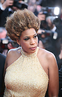 Singer Macy Gray at The Paperboy gala screening red carpet at the 65th Cannes Film Festival France. Thursday 24th May 2012 in Cannes Film Festival, France.