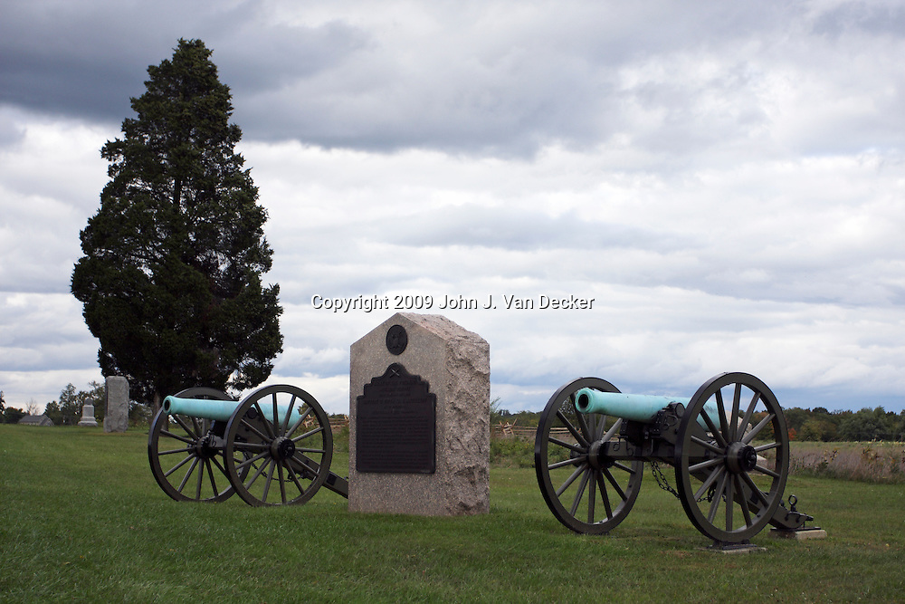 Monument to the Union Army of the Potomac Artillery Reserve, Battery C Fifth U.S. Artillery, Gettysburg