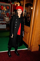 Musician KATIE MELUA at the gala night of Varekai by Cirque du Soleil at The Royal Albert Hall, London on 8th January 2008.<br />