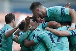 Pierre-Emerick Aubameyang of Arsenal celebrates after scoring his sides second goal - Mandatory by-line: Jack Phillips/JMP - 12/05/2019 - FOOTBALL - Turf Moor - Burnley, England - Burnley v Arsenal - English Premier League