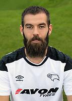 Derby County Photo Call.  Joe Ledley