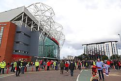 Fans arrive at Old Trafford - Mandatory by-line: Matt McNulty/JMP - 17/09/2017 - FOOTBALL - Old Trafford - Manchester, England - Manchester United v Everton - Premier League
