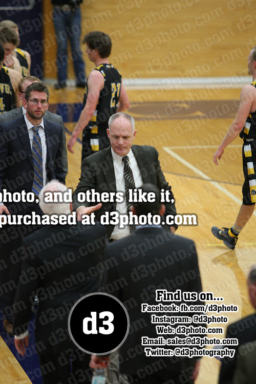 NCAA Div. III Men's Basketball: Carleton Knights vs. Gustavus Gusties