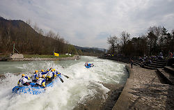 Mrzla Uoda of Slovenia at Euro Cup 2009 R6 Rafting in TT & H2H and Slovenian National Championship 2009, on April 4, 2009, in Tacen, Ljubljana, Slovenia. (Photo by Vid Ponikvar / Sportida)