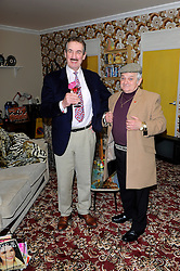 John Challis & Del Boy lookalike during the Ideal Home Show, Earls Court, London, UK, March 15, 2013.  Photo by Chris Joseph / i-Images...