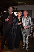 RICHARD HUDSON; SHANNON HUDSON; MICHAEL PATTEMORE, Action Against Cancer 'A Voyage of Discovery' fundraising dinner at the Science Museum on Wednesday 14 October 2015.