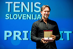 Blaz Trupej during Slovenian Tennis personality of the year 2017 annual awards presented by Slovene Tennis Association Tenis Slovenija, on November 29, 2017 in Siti Teater, Ljubljana, Slovenia. Photo by Vid Ponikvar / Sportida