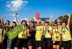 Tina Maze with volunteers at Ironman 70.3 Slovenian Istra 2018, on September 23, 2018 in Koper / Capodistria, Slovenia. Photo by Vid Ponikvar / Sportida