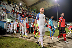 October 10, 2017 - Couva, Caroni County, Trinidad & Tobago - Couva, Trinidad & Tobago - Tuesday Oct. 10, 2017: USMNT vs Trinidad & Tobago, Michael Bradley during a 2018 FIFA World Cup Qualifier between the men's national teams of the United States (USA) and Trinidad & Tobago (TRI) at Ato Boldon Stadium. (Credit Image: © John Todd/ISIPhotos via ZUMA Wire)