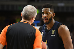 March 2, 2018 - Madrid, Madrid, Spain - Jason Thompson,  #1 of Fenerbahce pictured during the 2017/2018 Turkish Airlines EuroLeague Regular Season Round 24 game between Real Madrid and Fenerbahce Dogus Istanbul at WiZink center in Madrid. (Credit Image: © Jorge Sanz/Pacific Press via ZUMA Wire)