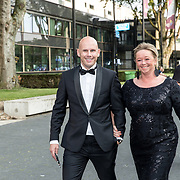 NLD/Hilversum//20170821 - Voetbalgala 2017, Jan van Halst en partner